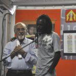 Mohamed Ba insieme a padre Vitali